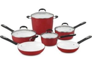best nonstick ceramic cookware set Cuisinart 59-10R
