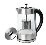 02 SMAL WK-0815T Tea Maker and Electric Kettle with Tea Filter Lid