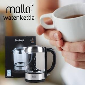 glass tea kettle very fast and quiet features