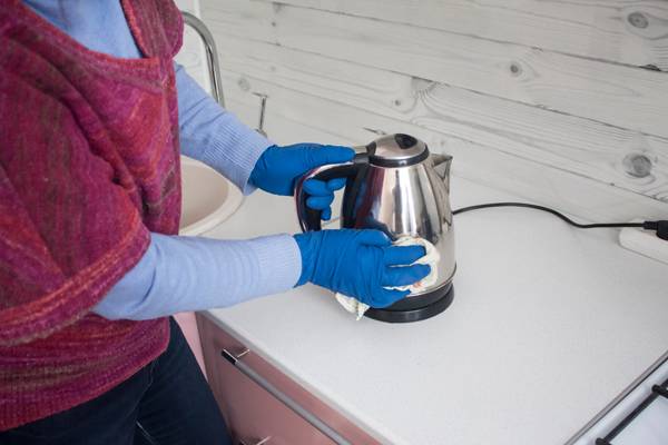 Clean Electric Kettles with Citric acid