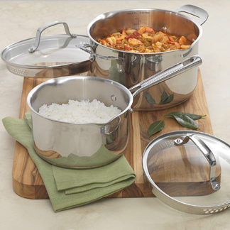Emeril All Clad Cookware Set