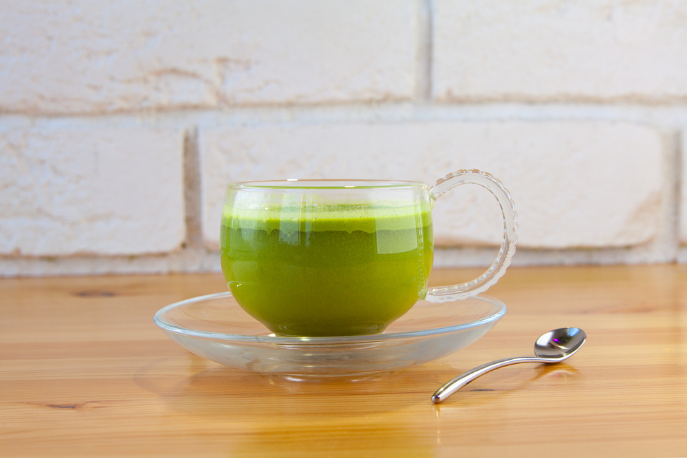 Green Tea for Vegetable Smoothie