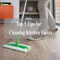 Top 5 Tips for Cleaning Kitchen Floors