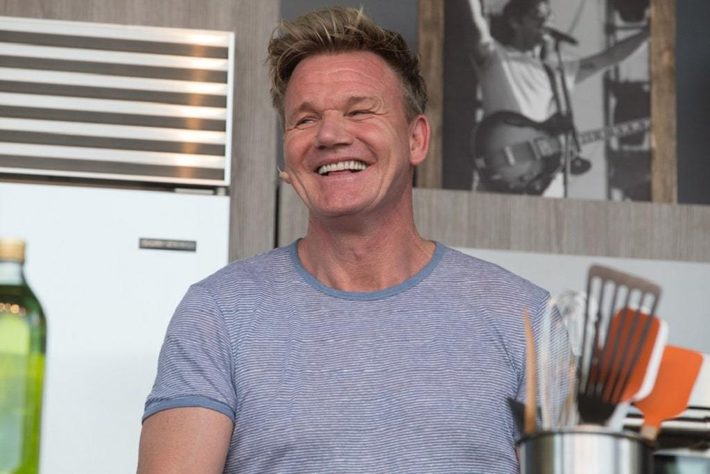 What cookware does Gordon Ramsay use